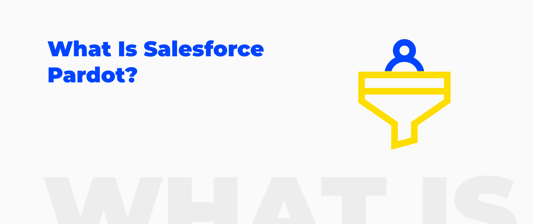 what is salesforce pardot