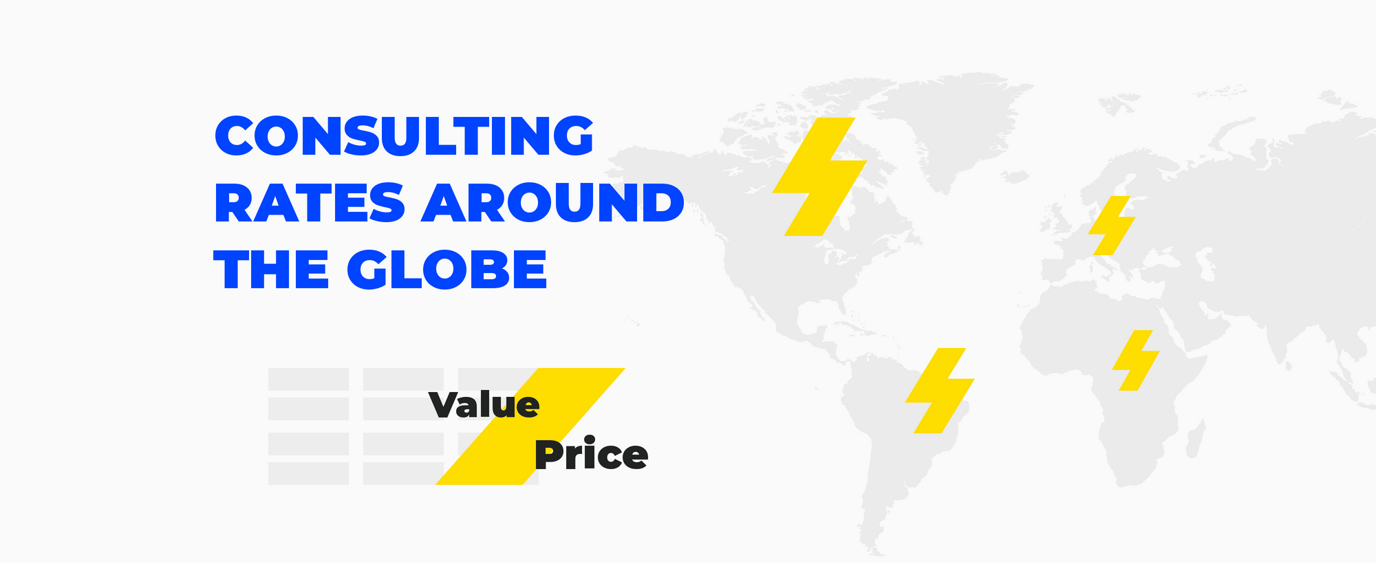 How Salesforce Consulting Rates Are Different Around The Globe: Value vs. Price